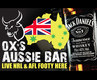 OX'S  Aussie Bar Light Box Design