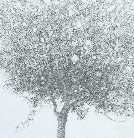 Summer trees, detail