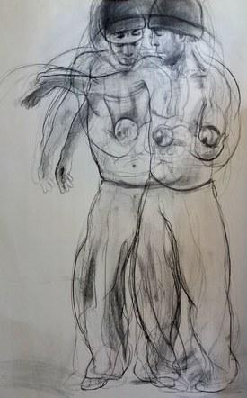 Dancer, sketch