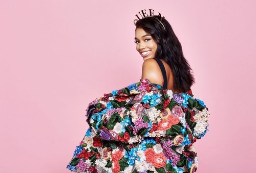 Lori Harvey for BET.com