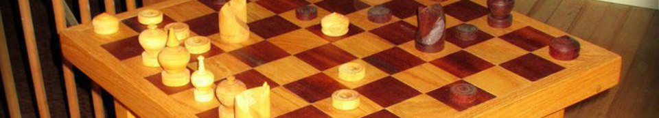 Chessboard Side Table