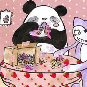 Children's Book: Pandan & Kitsune