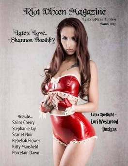 COVER - Riot Vixen Magazine Latex Special Edition