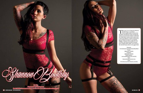Tattoo Kultür Magazine - Volume 5 - 2 of 4 page spread