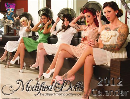 COVER - Modified Dolls Calendar