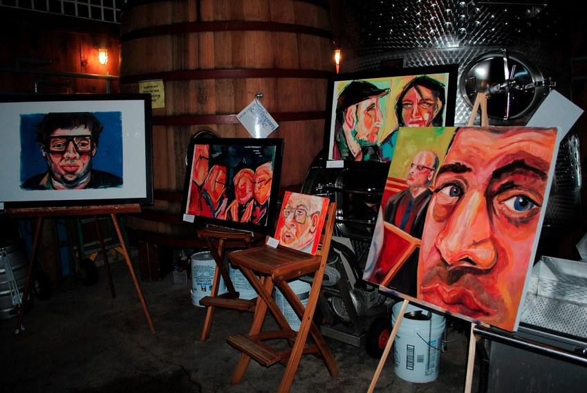 Shinn Vineyard Pop up Art Exhibition