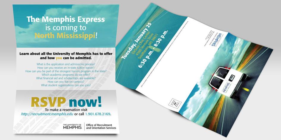 Memphis Express Tri-fold.