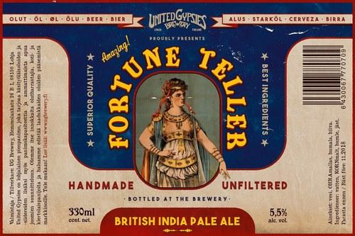 Fortune Teller beer label