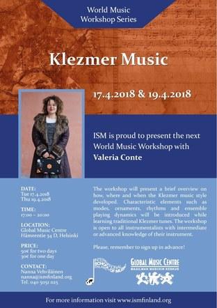 Fliers for International School of Music, Finland