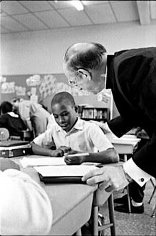 School Visit with Big Shoulders Fund, October 1989