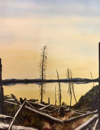 Sunrise on Jenny Lake
