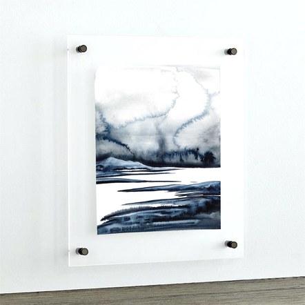 Summer Showers (framed)