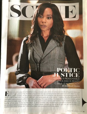 Erica Ash of BET Incontempt featured in Essence Magazine