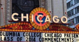 The Chicago Theatre - Facade