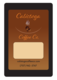 Calistoga Coffee Package and Label
