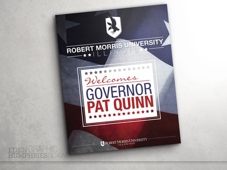 Governor Pat Quinn Welcome Sign