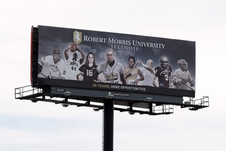 RMU Athletic Billboard