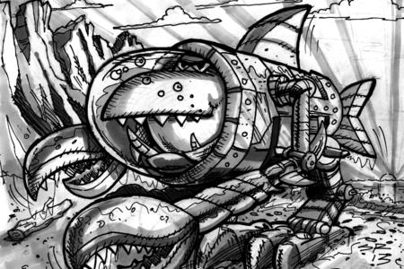 Fish Tank Sketches