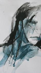 Blue Graphite Sketches