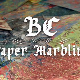 BC Paper Marbling