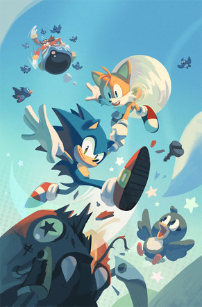 IDW's Sonic the Hedgehog #1