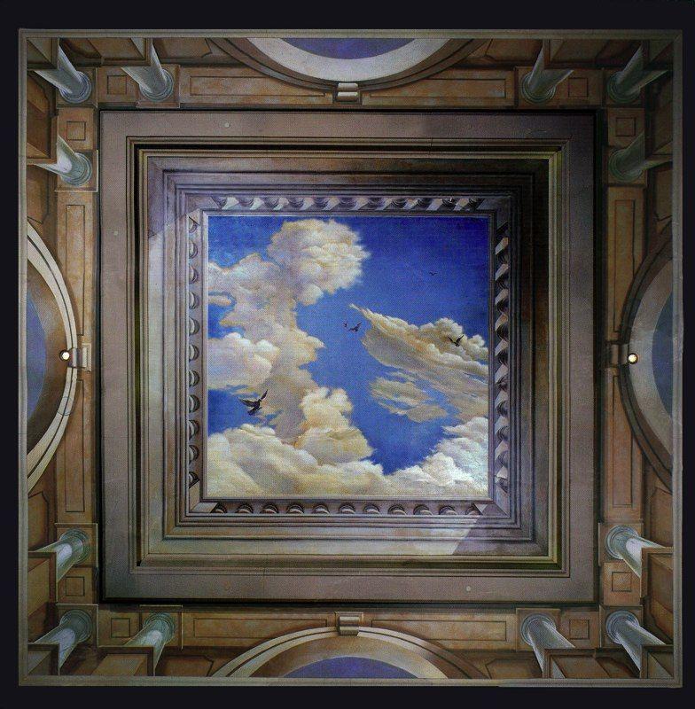 CAESAR'S PALACE ceiling mural