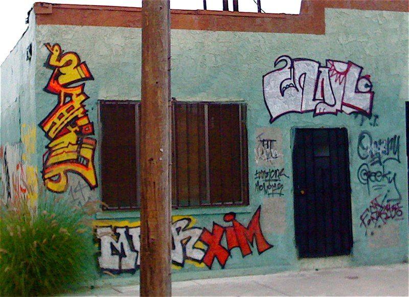 """PRTVATE PRACTICE"" graffiti walls"