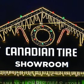 Canadian Tire Gingerbread House