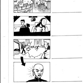 Television Show Storyboard