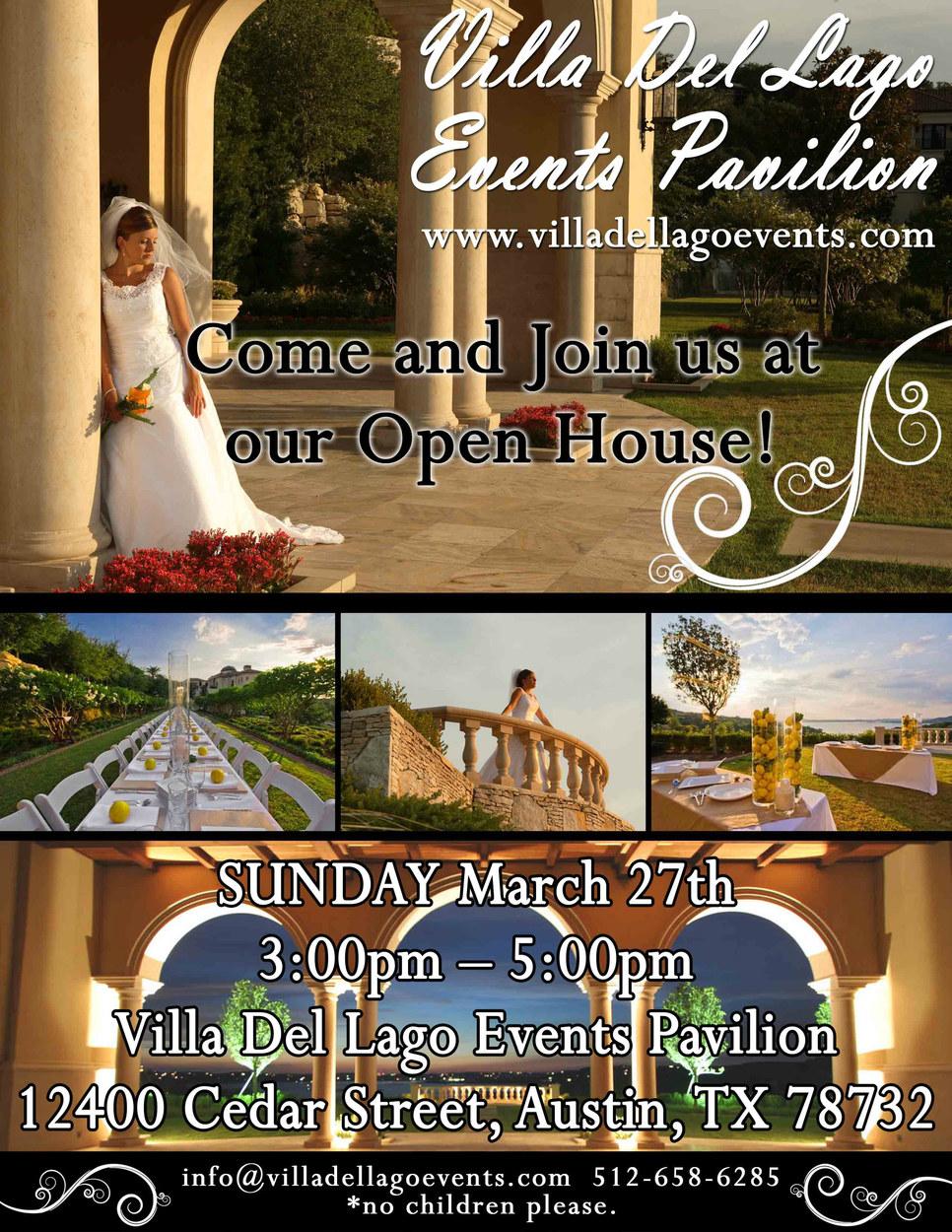 Promotional Flyer_Villa Del Lago Events