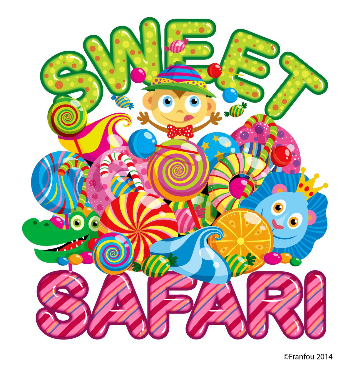 Logo for a candy store in L.A.