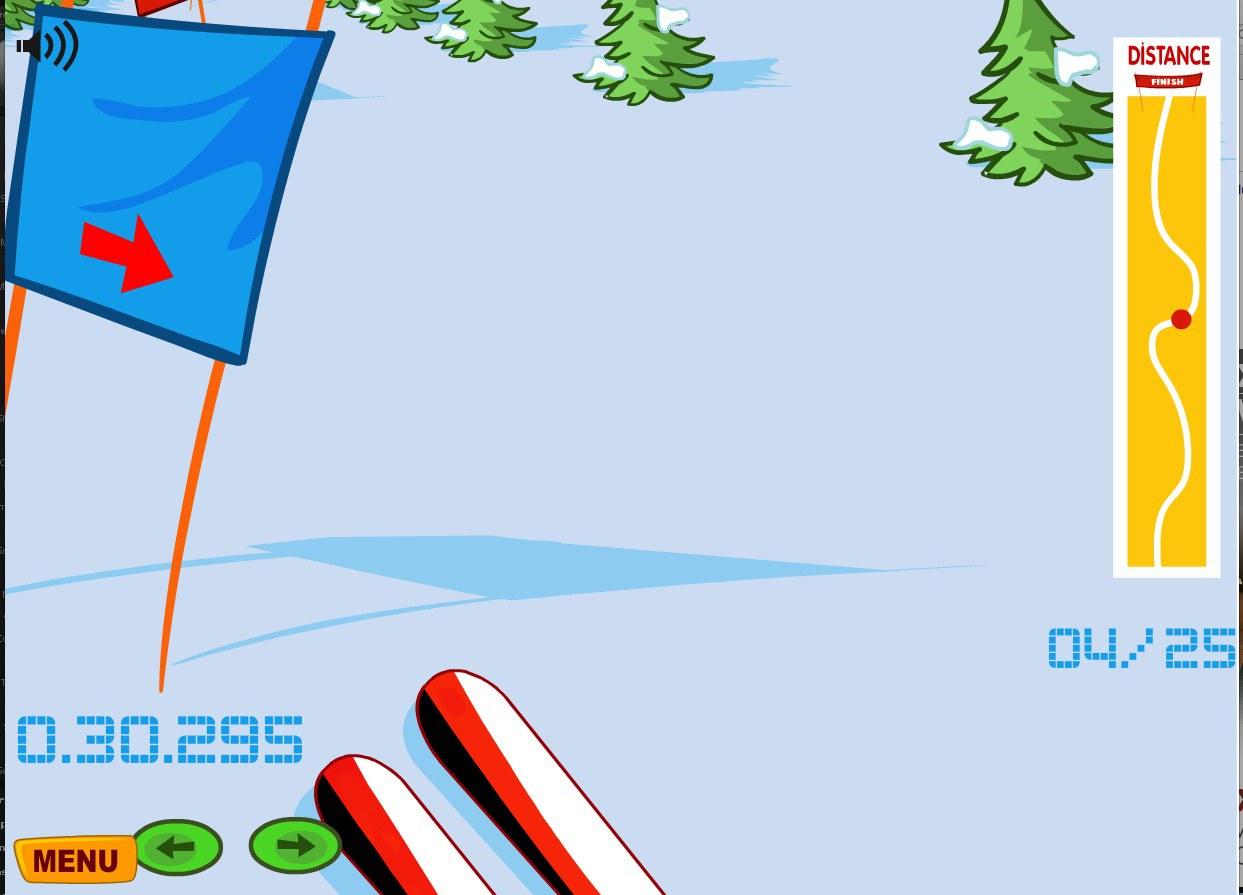 Olympics.ca - Ski game