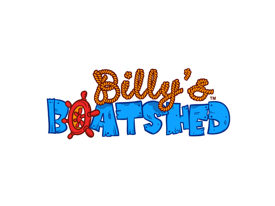 Logo -  Billy Boatshed Books and TV Series