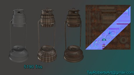 "Lantern for ""Abigail"""
