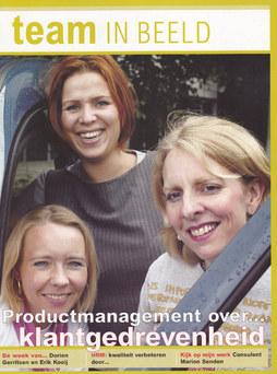 Team in Beeld, personeelsmagazine Achmea