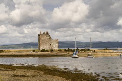 Scotland, Isle of Arran Lochranza Castle