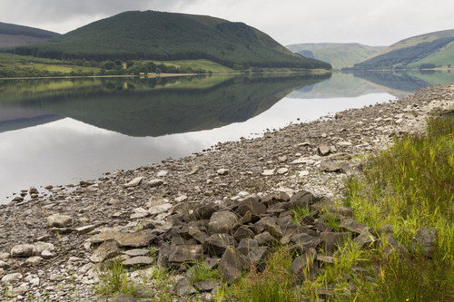 Scotland, The Borders St Mary's Loch