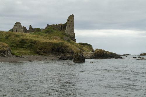 Scotland, Dunure Castle