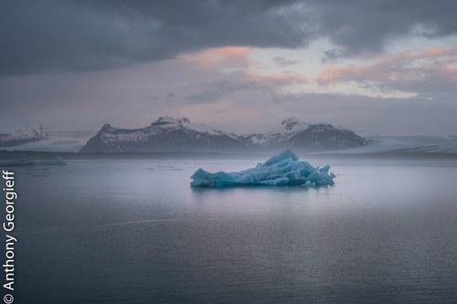 Ice Lagoon, Jokulsarlon, Iceland