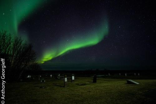Churchyard, Northern Iceland