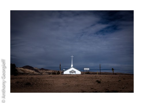 Church, Beatty, Nevada