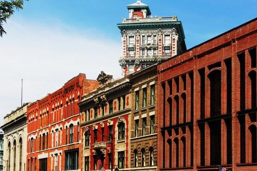 Look up Binghamton! Court Street Architecture