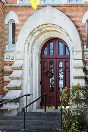 First Congregational Church Entrance