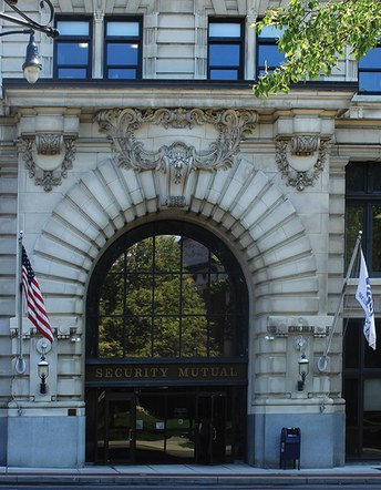 Security Mutual Beaux Art Architecture Arch