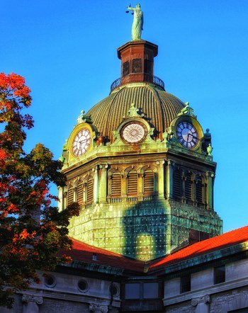 The Golden Hour_ BC Courthouse