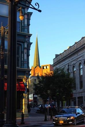 The Golden Hour- Chenango Street, Binghamton, NY