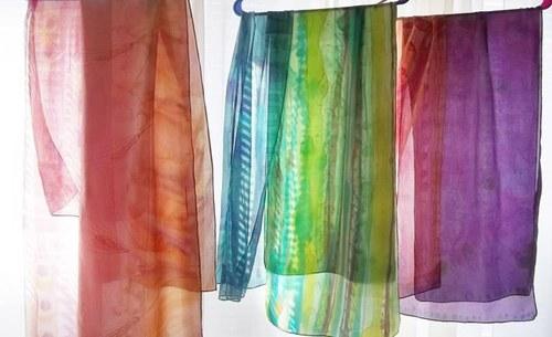Toni Brou Silk Scarves