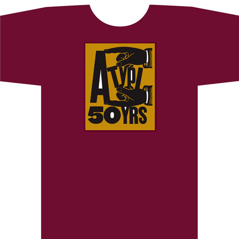 ATypI 50th Anniversary T-shirt