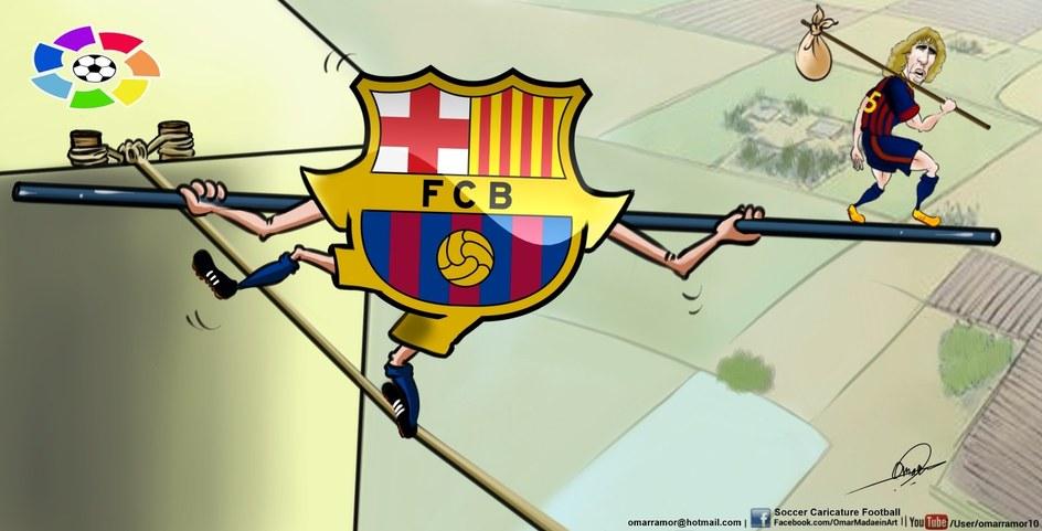 Barca Failed puyol leave9