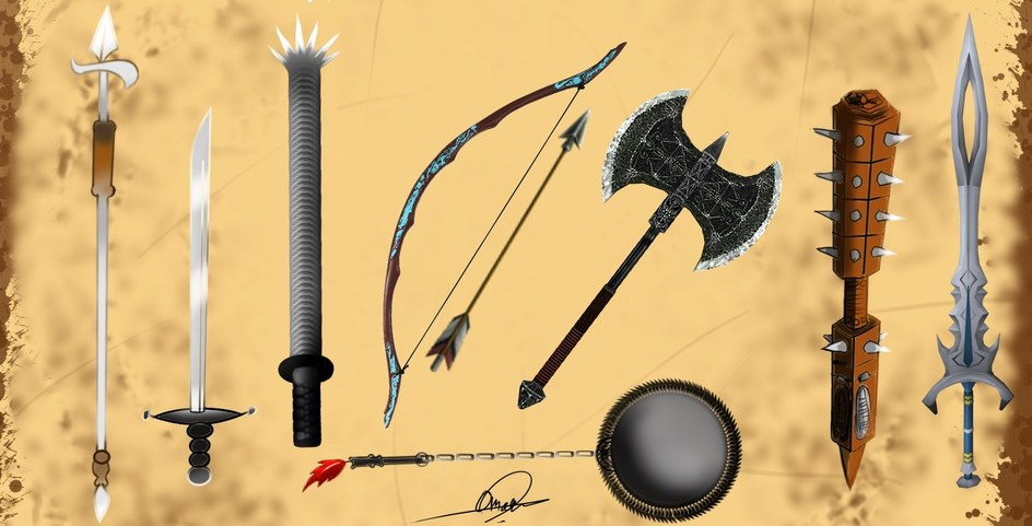 Weapons by Omar4